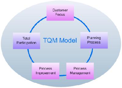 Соблюдение принципов TQM в системе качества компании