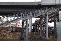 Пешеходный мост на станции Нижегородская