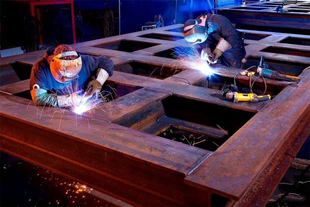Изготовление металлоконструкций для строительства зданий