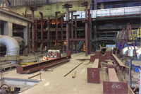 Начали монтаж ТЭЦ-22 в г. Дзержинск