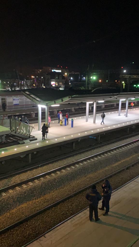 Станция Малиновка