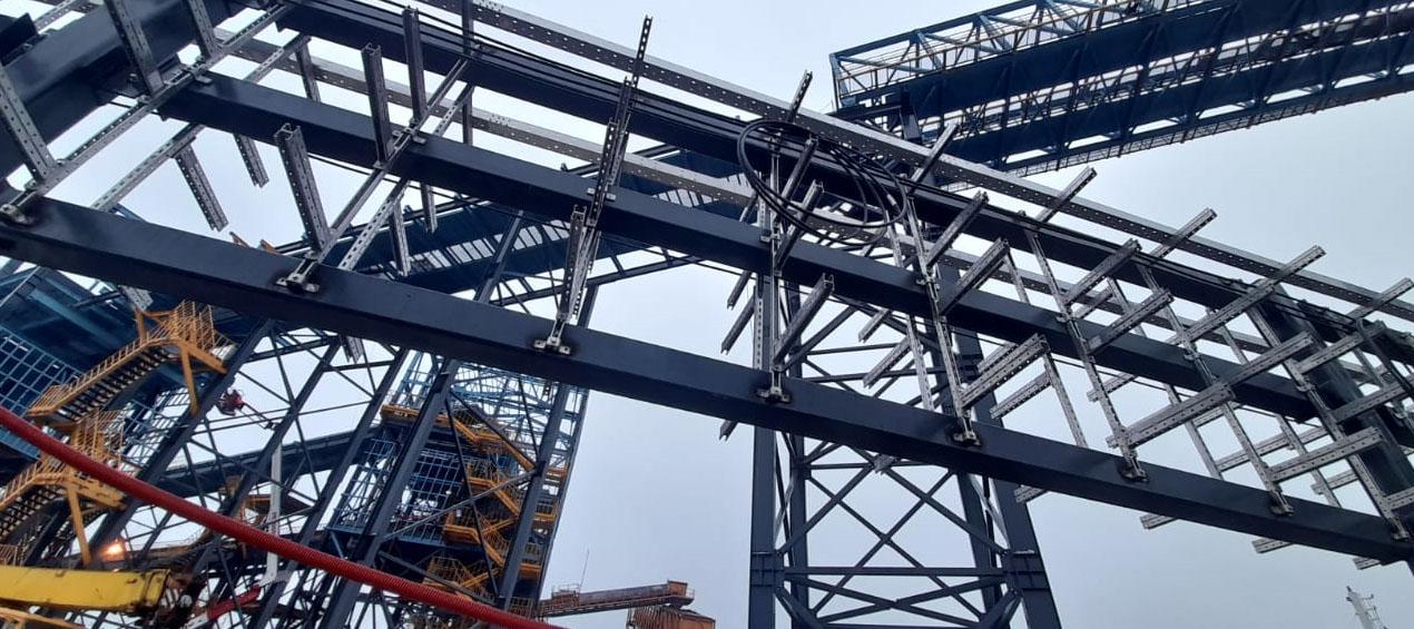 Завершающая стадия монтажно-строительных работ в городе Кингисепп