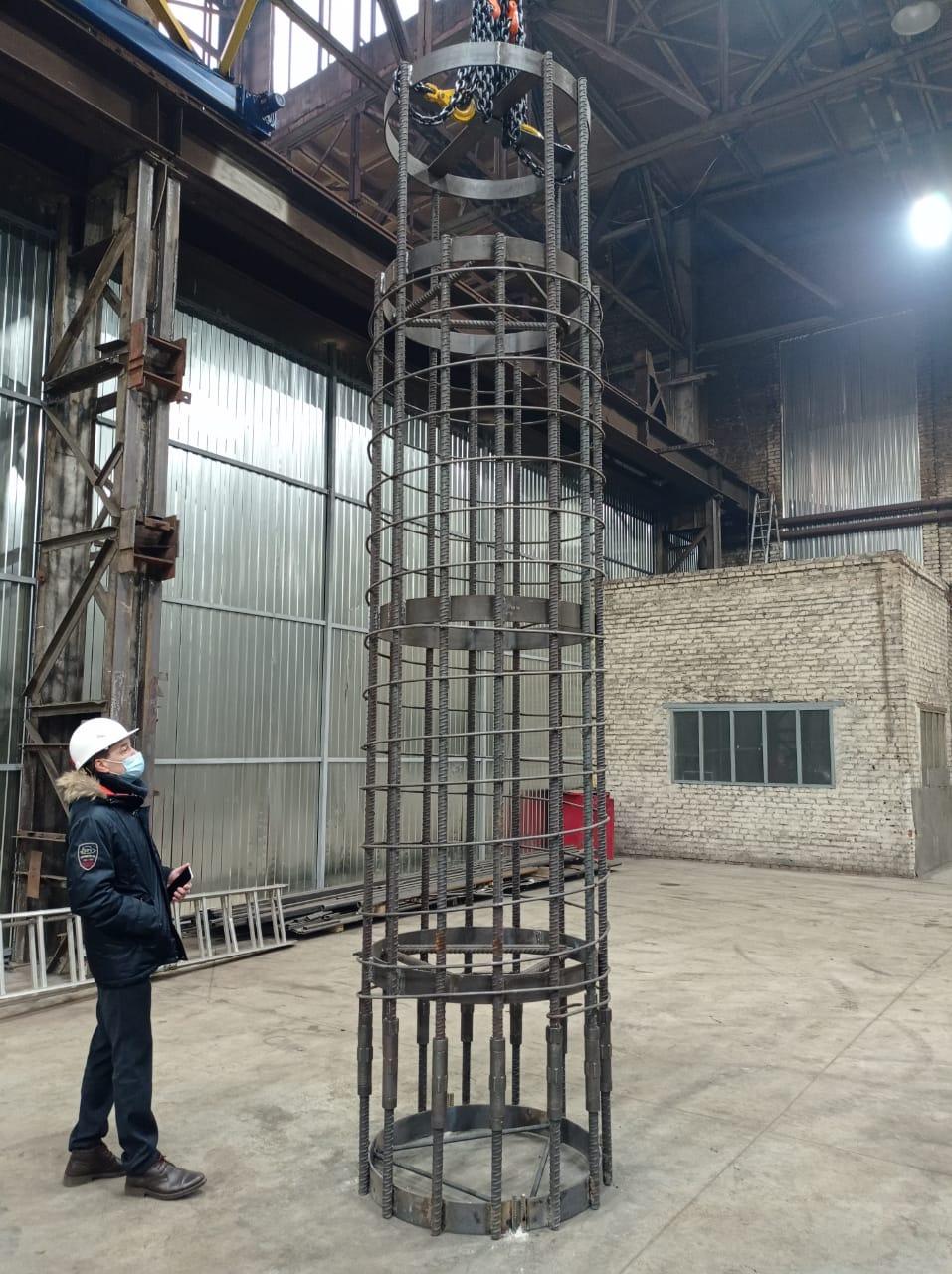 Тульский металлопрокатный завод провёл успешные испытания стыковки каркаса БНС
