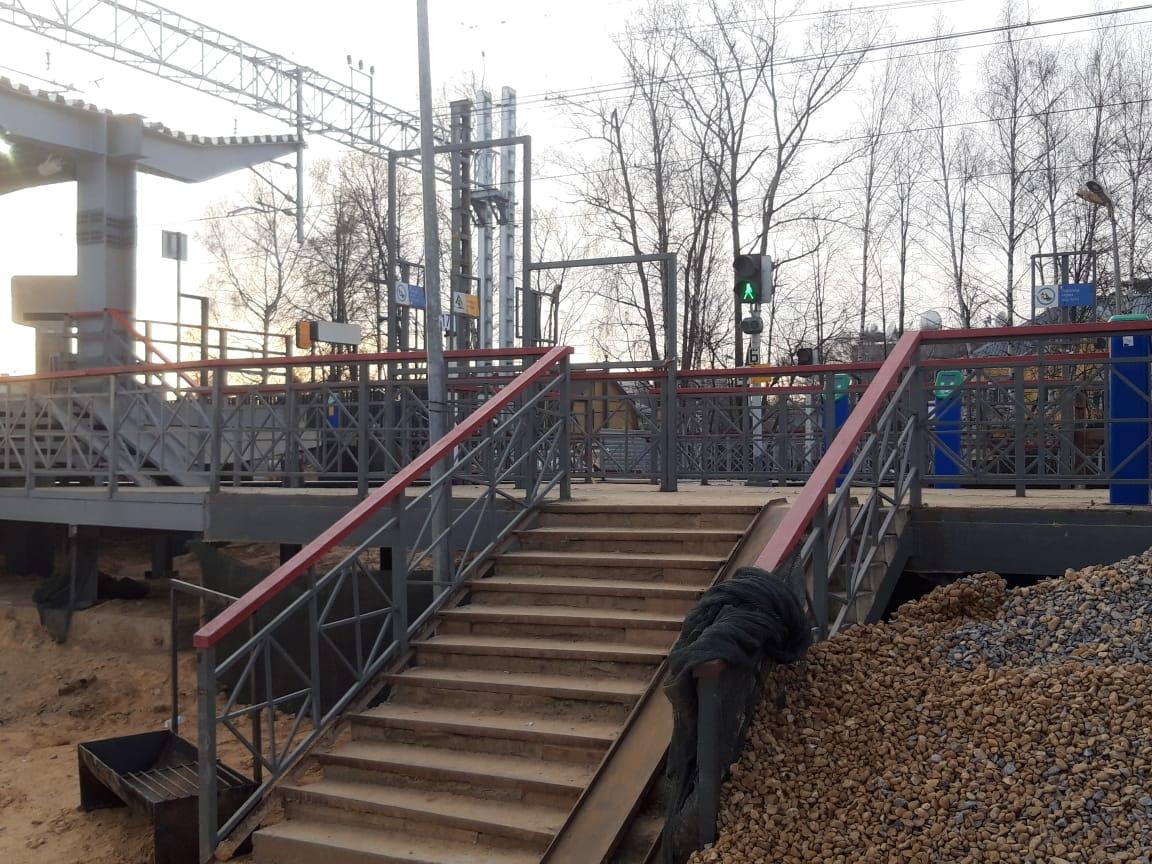 Станция Новодачная