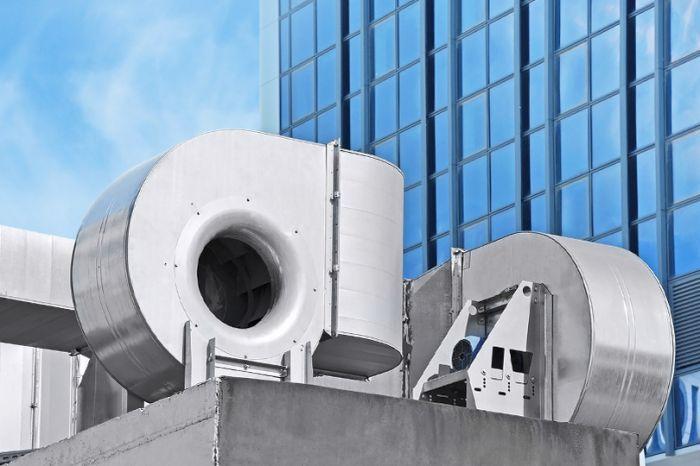 Система вентиляции для ТРЦ «Солнышко»