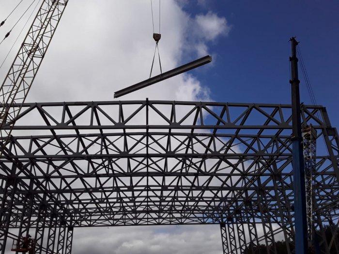 Продолжаем поставку и монтаж конструкций корпуса для изготовления беспилотников